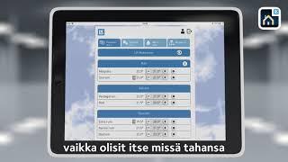 LK Webserver  Video - LK Huonesäätöjärjestelmä ICS.2