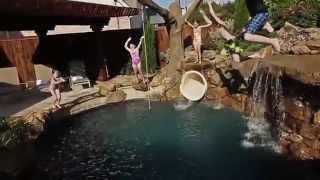 AquaTerra - Pirates Themed Backyard Pool
