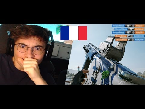 Reacting to the a FRENCH CONTROLLER player - Rainbow Six Siege