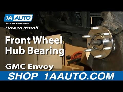 How to Replace Wheel Bearing & Hub Assembly 02-06 GMC Envoy XL