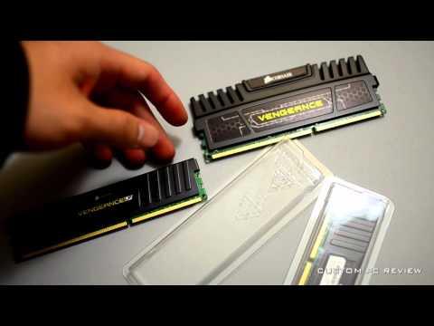 [Unboxing] Corsair Vengeance DDR3 Low Profile Memory
