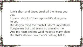 Charlie Louvin - I Just Don't Understand Lyrics