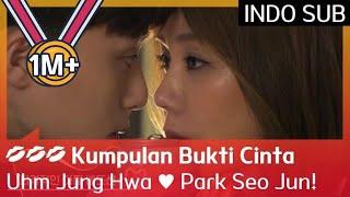 💋💋💋 Ciuman Bir ke Ciuman Ranjang Uhm Jung Hwa ♥ Park Seo Jun #AWitchsLove 🇮🇩 INDO SUB🇮🇩