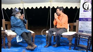 242 கோடி மரம் நடுவது சாத்தியமா..?   பாண்டே நேர்காணல்   சத்குரு   காவிரி கூக்குரல் l Cauvery Calling
