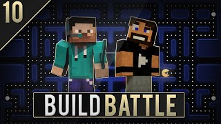 IL PAC-MAN PIU BELLO Di SEMPRE - E10 - Minecraft Build Battle [ITA] w/Tizio20