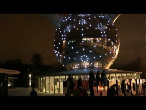Атомиум в Брюсселе