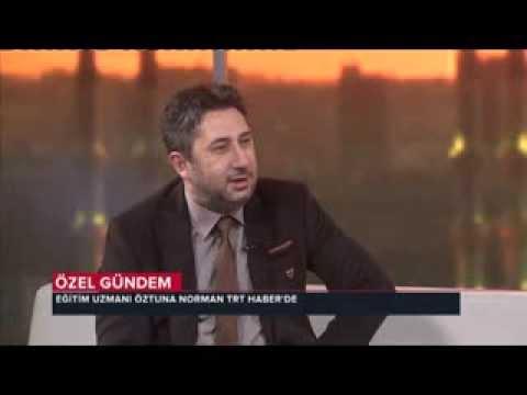 Öztuna Norman TRT Haber'de