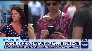 Is your smart phone giving you neck pain? Science says yes.