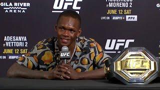 UFC 263: Israel Adesanya Post-fight Press Conference