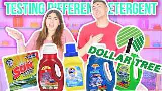 TESTING DOLLAR TREE DETERGENTS FOR SLIME | Differentactivators | Slimeatory #62