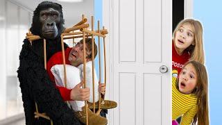 Amelia bedtime stories, Akim has bad dreams about a monkey - Part 1