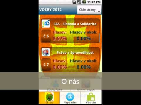 Video of Ja Volím - Voľby 2012 -NR SR