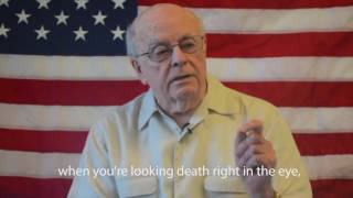 WWII Marine who survived Iwo Jima explains why we must defeat Trump