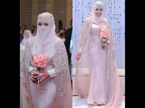 Awesome Arabic Bridal Wedding Gown 2017