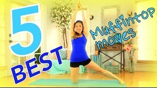 5 Best Muffintop Melting Moves - Best Oblique Workout