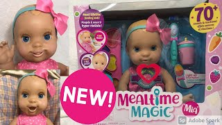 NEW! Luvabella Mealtime Magic Mia! Unboxing, Review, & Feeding! Coolest Doll Of 2020