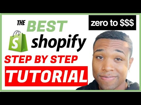 The Best Shopify Tutorial For Beginners 2021 - How To Create A Dropshipping Store With No Money