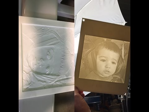 Lithophane Cutting on a ShopSabre PRO Series Routervideo thumb