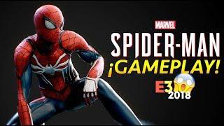 ¡ALUCINANTE Gameplay de SPIDER-MAN! 6 SINIESTROS y mucho más.