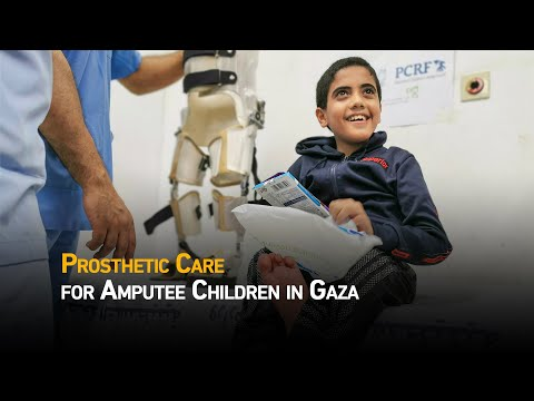 Prosthetic Care for Amputee Children in Gaza