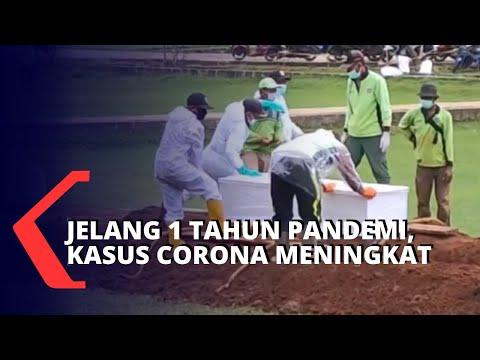 Jelang Setahun Pandemi, Kasus Corona Terus Bertambah