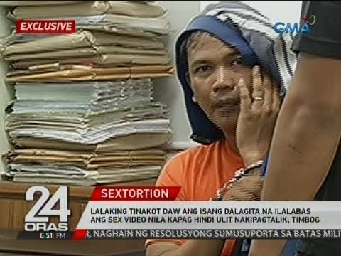 24 Oras Exclusive Lalaking Tinakot Ang Dalagita Na Ilalabas Ang Sex Video Nila Timbog