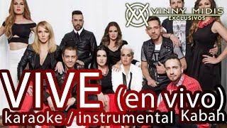 Vive (EN VIVO INSTRUMENTAL / Karaoke) - Kabah Ft. OV7