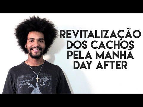 REVITALIZAÇÃO DOS CACHOS PELA MANHÃ DAY AFTER