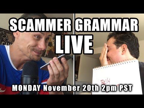 SCAMMER GRAMMAR LIVE