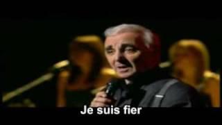 mes emmerdes aznavour sous titres lyrics karaoke