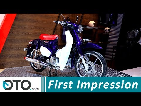 Honda Super Cub 125 | First Impression | GIIAS 2018 | OTO.com