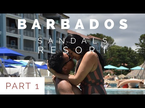 Sandals Barbados | Butler Suite all inclusive PART I