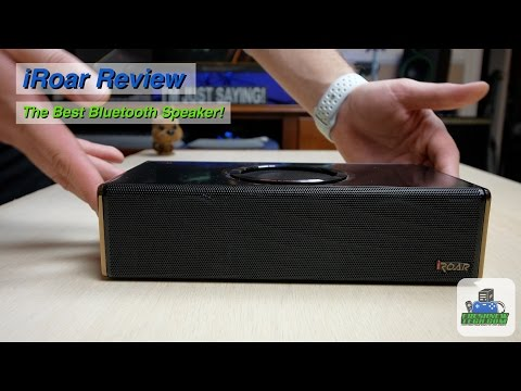The Best Bluetooth Speaker Ever? - iRoar Overview/Review