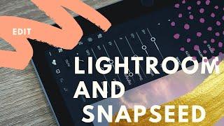 Lightroom +snapseed edit