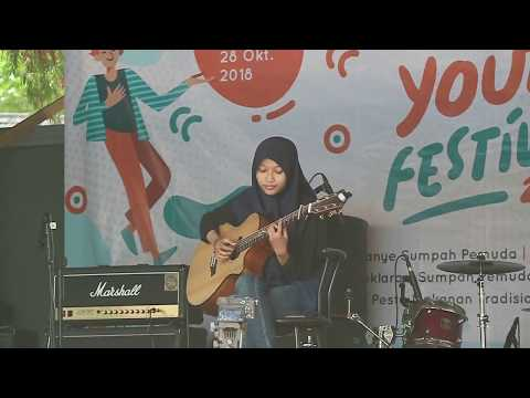 , title : 'Arsy Widianto, Brisia Jodie - Dengan Caraku [live fingerstyle cover]'