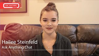 Hailee Steinfeld MRL Ask Anything Chat w/ Romeo (Full Version)