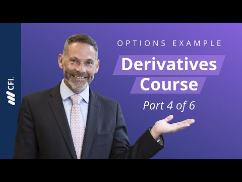Options - Introduction to Derivatives Part 4 of 6 - YouTube