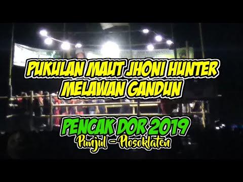 Keganasan Jhoni Hunter Vs Gandun!! || Pencak DOR 2019 Live Punjul Plosoklaten