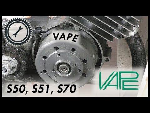 Umbau Vape Zündanlage - S50, S51, S70 Tutorial