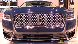 [AutoMotoTube] 2017 Continental - Exterior and Interior Walkaround - 2017 Chicago Auto Show