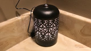 Aroma diffuser setup