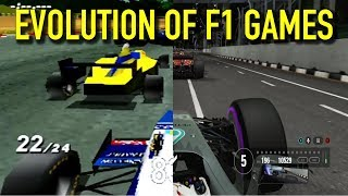 The Evolution Of F1 Games (1989   2017)
