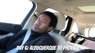 preview picture of video 'Road Trip: 2018 - Leg #6 (Albuquerque to Phoenix)'