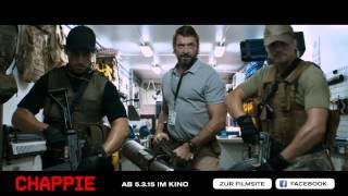 Chappie Film Trailer