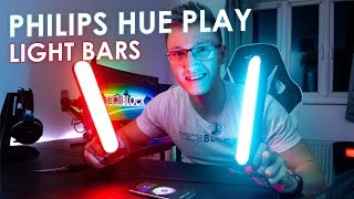 Philips Hue Play - LED Light Bars | Works with Razer Chroma & Hue Sync
