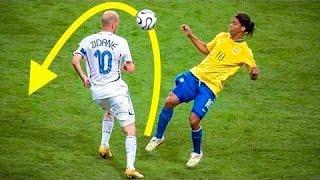 Смотреть онлайн Подборка: Крутые обводки с мячом в футболе