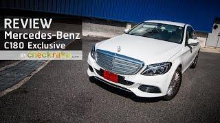 รีวิว Mercedes-Benz C 180 Exclusive ก้าวใหม่สู่ระดับที่เหนือกว่า