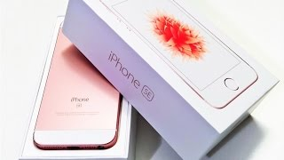 iPhone SE Live Unboxing & First Impressions! - Самые лучшие