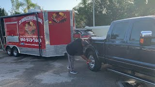 How we Prep in our BBQ Food Trailer/Food Truck / CB Smokehouse BBQ