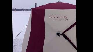 Палатки для зимней рыбалки снегирь 3т